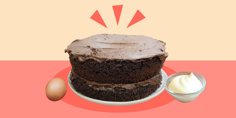 One tip I tried? Add a cup of hot coffee to a chocolate cake to make the flavor even richer.