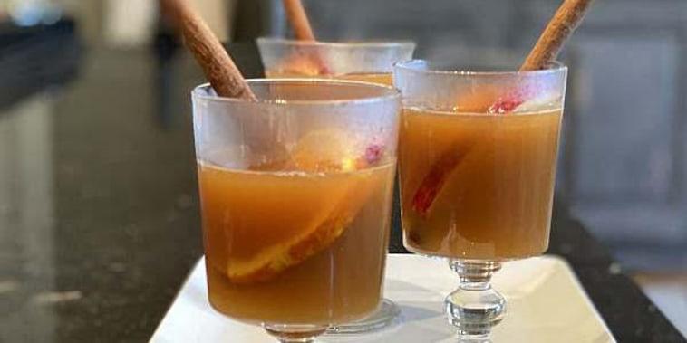 Ina Garten's Hot Spiced Apple Cider