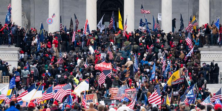 Trump Protest at Capitol