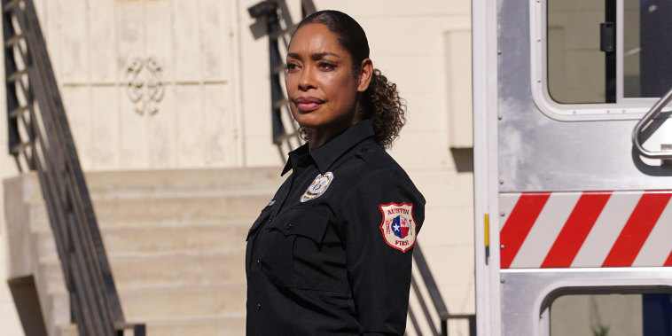 "Gina Torres in the season premiere of ""9-1-1: Lone Star."""