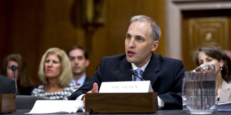 Senate Panel Consdiers Olsen for National Counterterrorism Center Post