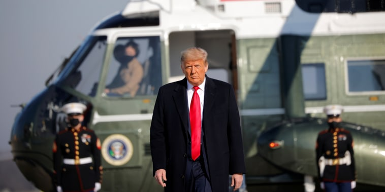 Image: President Trump departs Washington on travel to Texas at Joint Base Andrews in Maryland