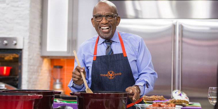 Image: Al Roker on the Today Show. February 28, 2017.