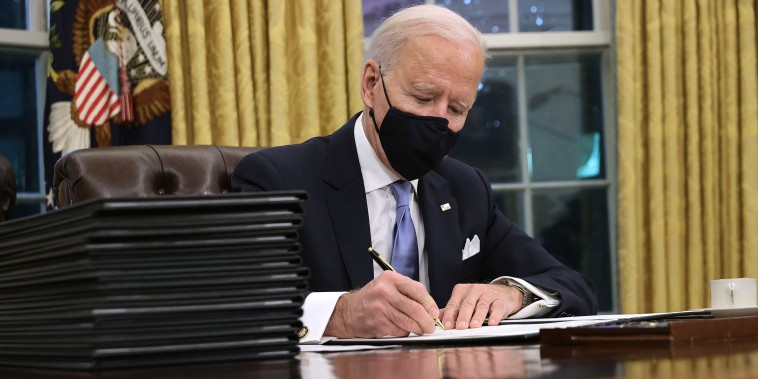 Image: Joe Biden Marks His Inauguration With Full Day Of Events