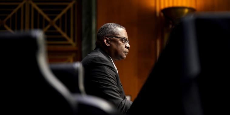 Image: Biden Defense Secretary Nominee Lloyd Austin Testifies At Senate Hearing