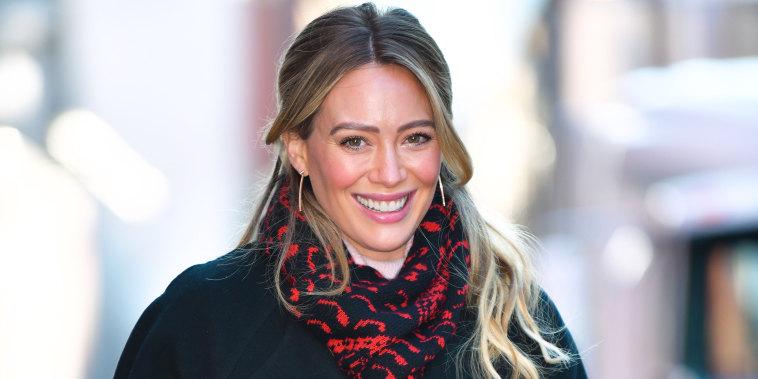 Hilary Duff seen in Manhattan