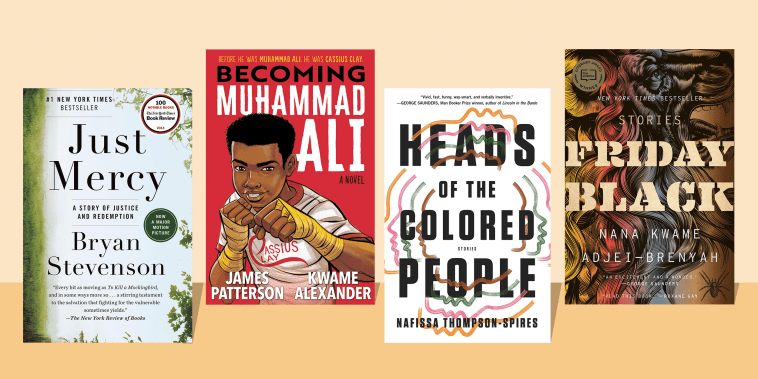 Illustration of Authors favorite picks for Black history month