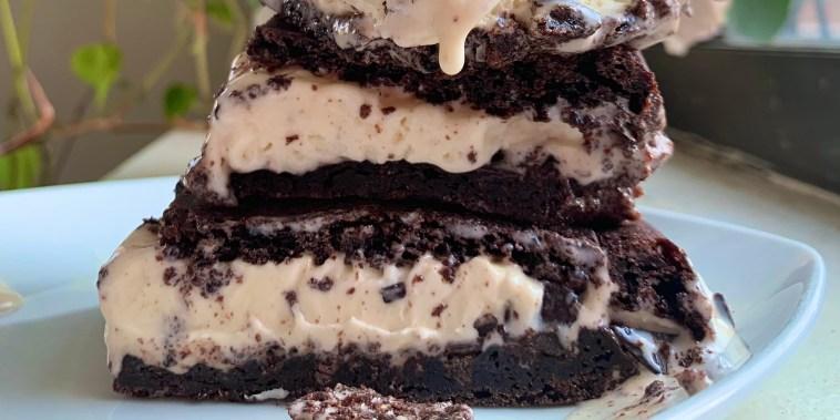 Jocelyn Delk Adams' Brownie Ice Cream Sandwiches