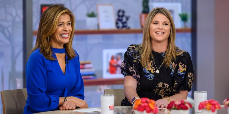 Hoda Kotb and Jenna Bush Hager