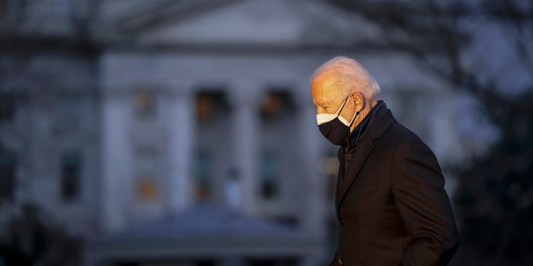 Image: President Joe Biden returns to White House from Michigan