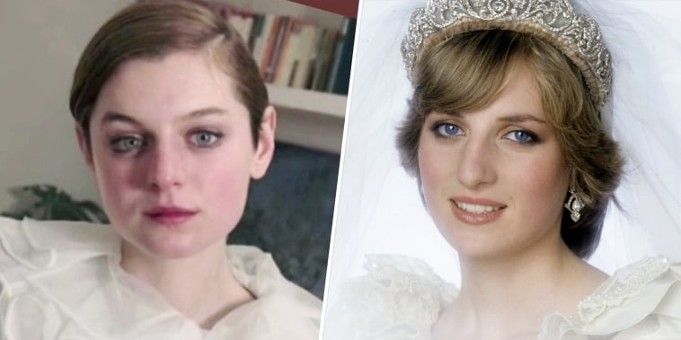 Emma Corrin, Princess Diana