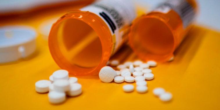 Opioid painkillers.