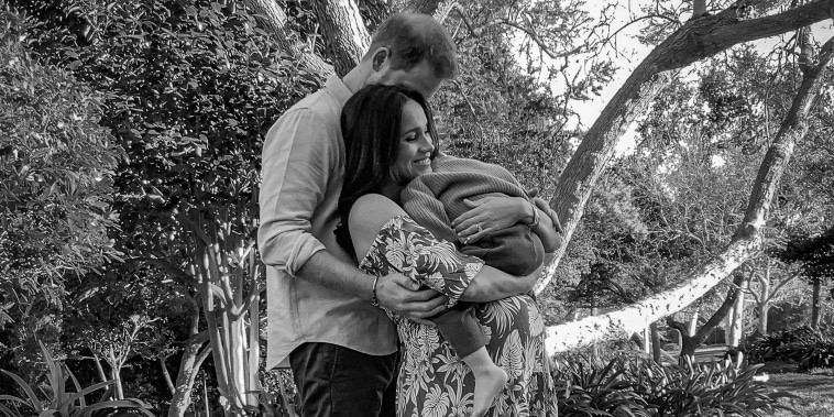 The Duke And Duchess Of Sussex Release A New Family Photograph