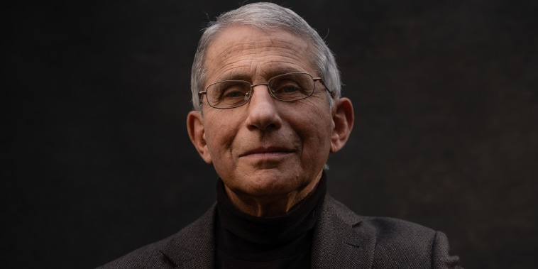 Dr. Anthony Fauci director of the National Institute of Allergy and Infectious Diseases, and head of the US pandemic response