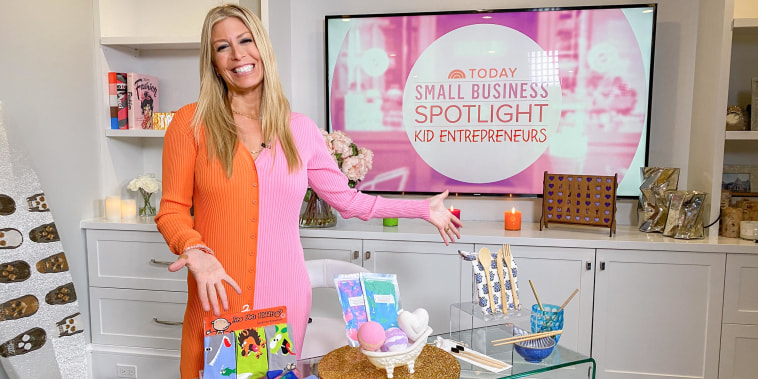 Jill Martin shares products from young kids and their small businesses