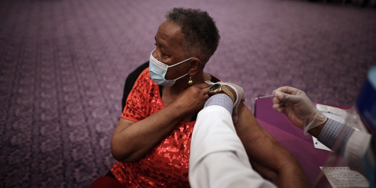 Underserved Members Of The Community Receive Inoculations At Maryland Vaccine Equity Task Force Clinic