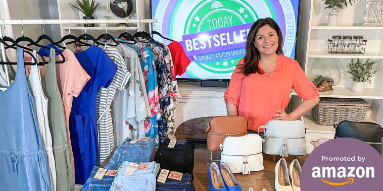 Adrianna Brach sharing her Amazon fashion clothing choices