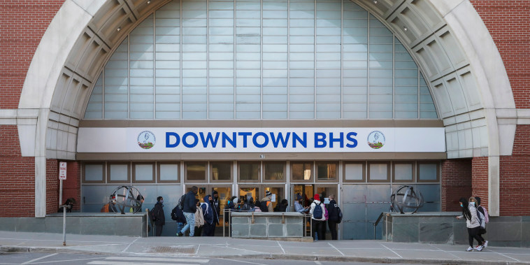 In Burlington, Vt., Students Evicted From School Now Learn In Converted Department Store