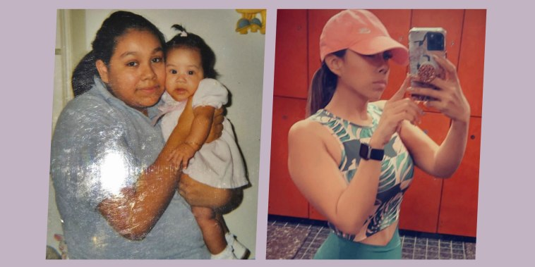 Mom of 4 transforms health, credits healthy diet and fitness routine to beating COVID-19