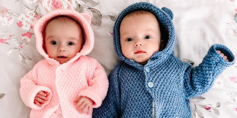 Woman conceives twins 3 weeks apart