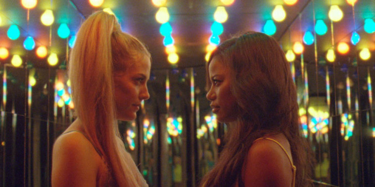 """Image: Riley Keough and Taylour Paige in \""""Zola.\"""""""