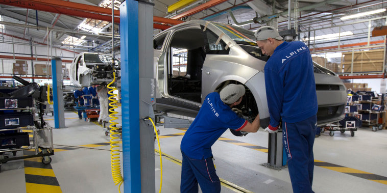 Despite their higher cost, EVs are simpler to build and require significantly less labor to produce.