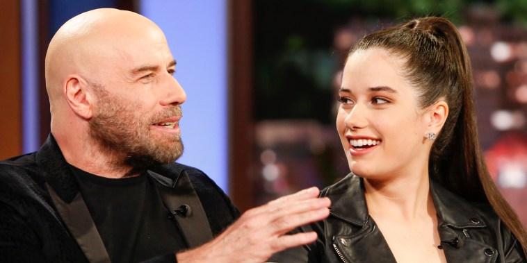 John & Ella Bleu Travolta