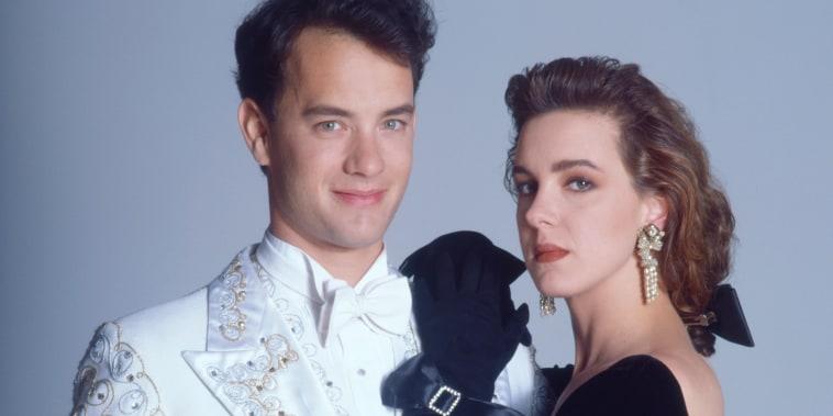 Tom Hanks and Elizabeth Perkins