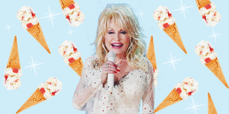 Dolly's new ice cream flavor