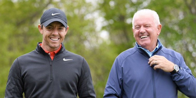 Gerry McIlory, Rory McIlroy