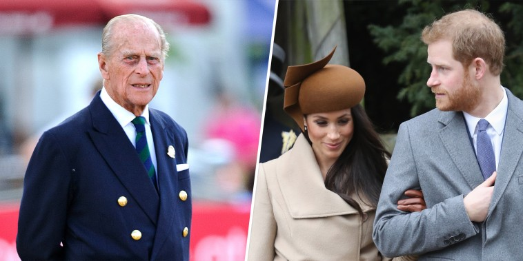 Prince Philip, Harry, Meghan