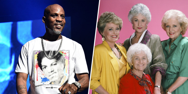 """Apparently late rapper DMX was a fan of \""""The Golden Girls.\"""""""