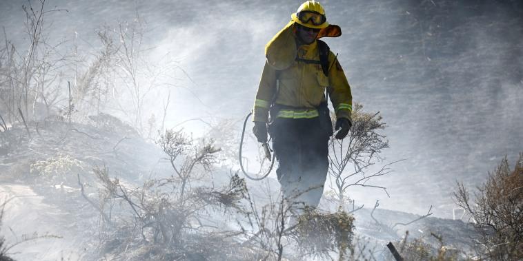 Image: California wildfire prevention, backfires