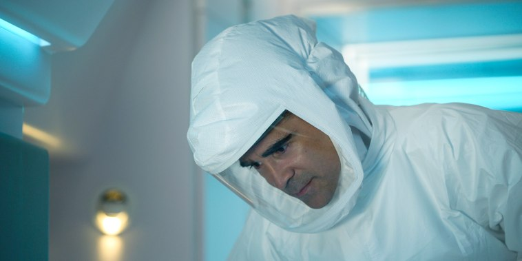 Image: Colin Farrell as Richard in Voyagers