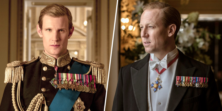 Image: The Crown Prince Philip Matt Smith Tobias Menzies