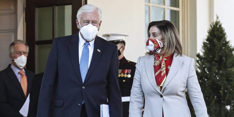 Image: Nancy Pelosi and Steny Hoyer