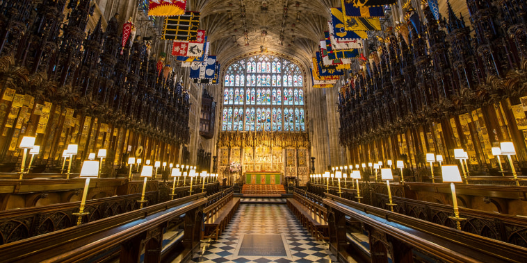 St George's Chapel at Windsor Castle.