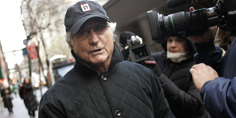 Bernard Madoff in New York (Shannon Stapleton / Reuters file)