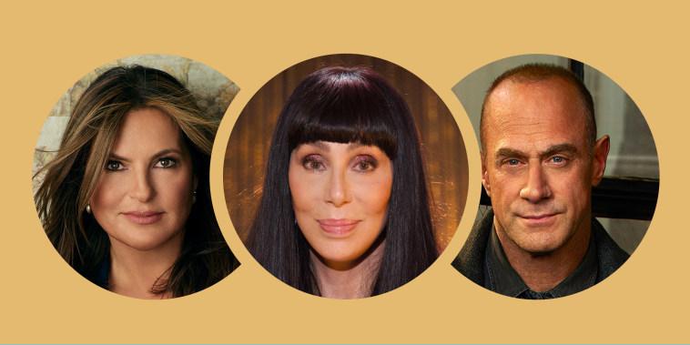 Cher, Meloni, Hargitay