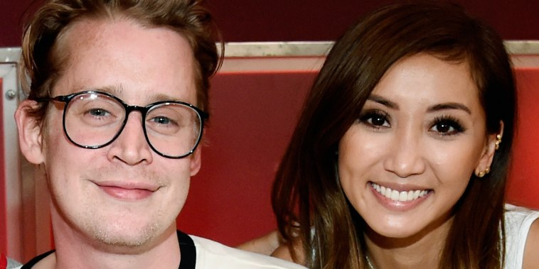 Macaulay Culkin, and Brenda Song