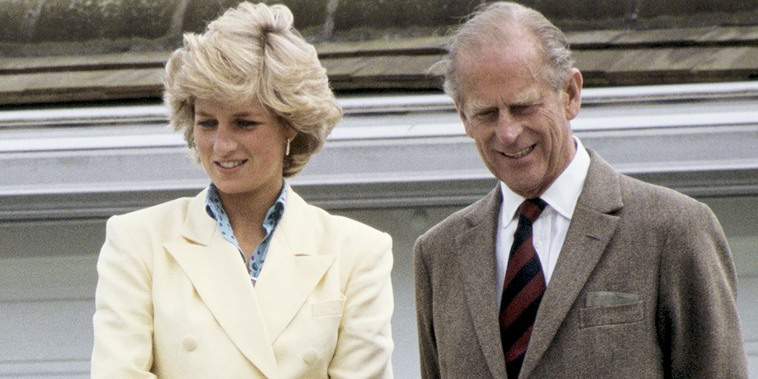 Princess Diana and Prince Philip