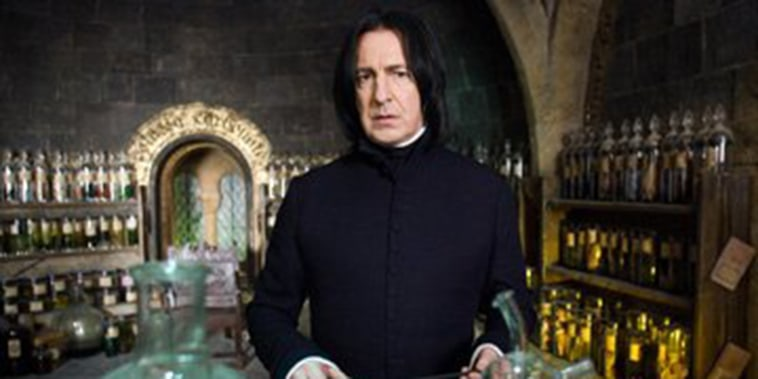 Image: Alan Rickman as Severus Snape