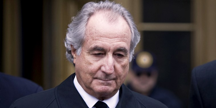 Bernard Madoff, founder of Bernard L. Madoff Investment Securities LLC, leaves federal court in New York on March 10, 2009.