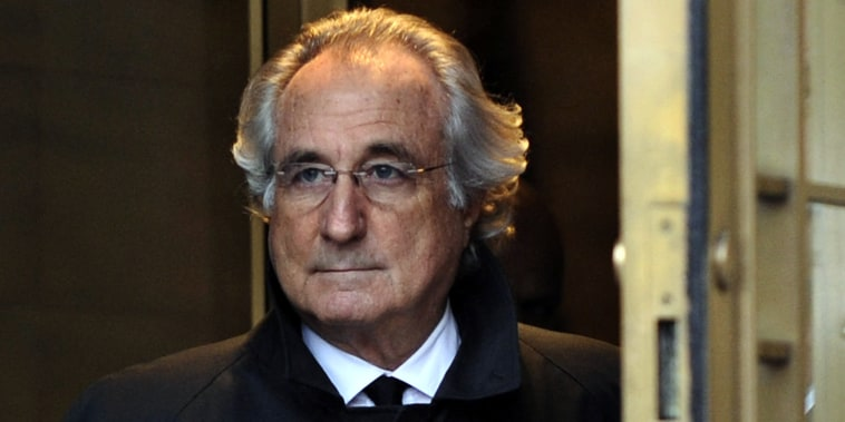 Image: Bernard Madoff leaves  Federal Court after a hearing regarding his bail on Jan. 14, 2009 in New York.