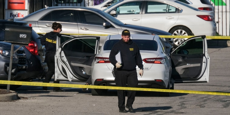 Image: FedEx facility shooting