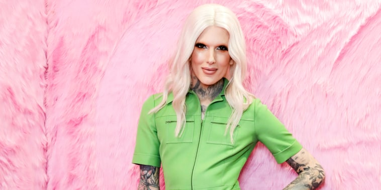 Singer and Make up Artist Jeffree Star poses for photos at Cosmoprof on March 17, 2018 in Bologna, Italy.