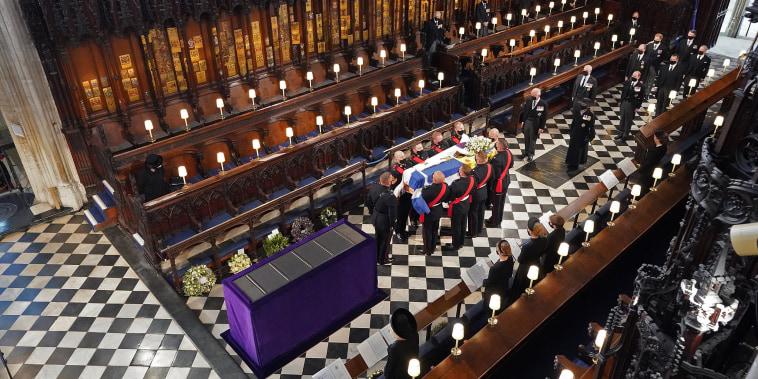 Image: The Funeral Of Prince Philip, Duke Of Edinburgh Is Held In Windsor