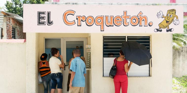 Cuban, croquettes