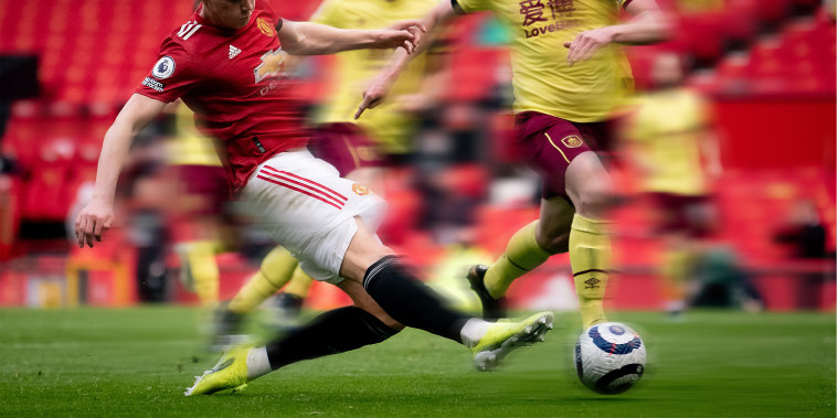 Image: Scott McTominay of Manchester United in action during the Premier League match in Manchester, United Kingdom.