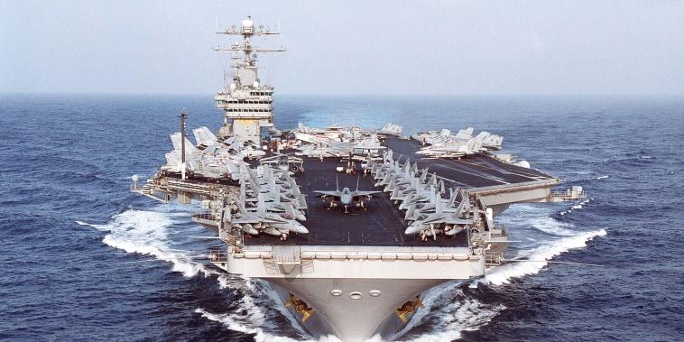 Image: USS Dwight D. Eisenhower In The Arabian Gulf
